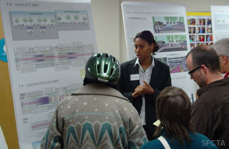 Public Forum about Geary Bus Rapid Transit Plan